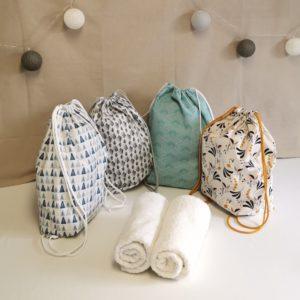 4 modèles de sacs à chaussures